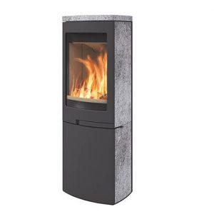 Toplozračna kaminska peč za centraln - Duo 6.